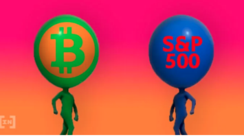 bitcoin vs s&p500